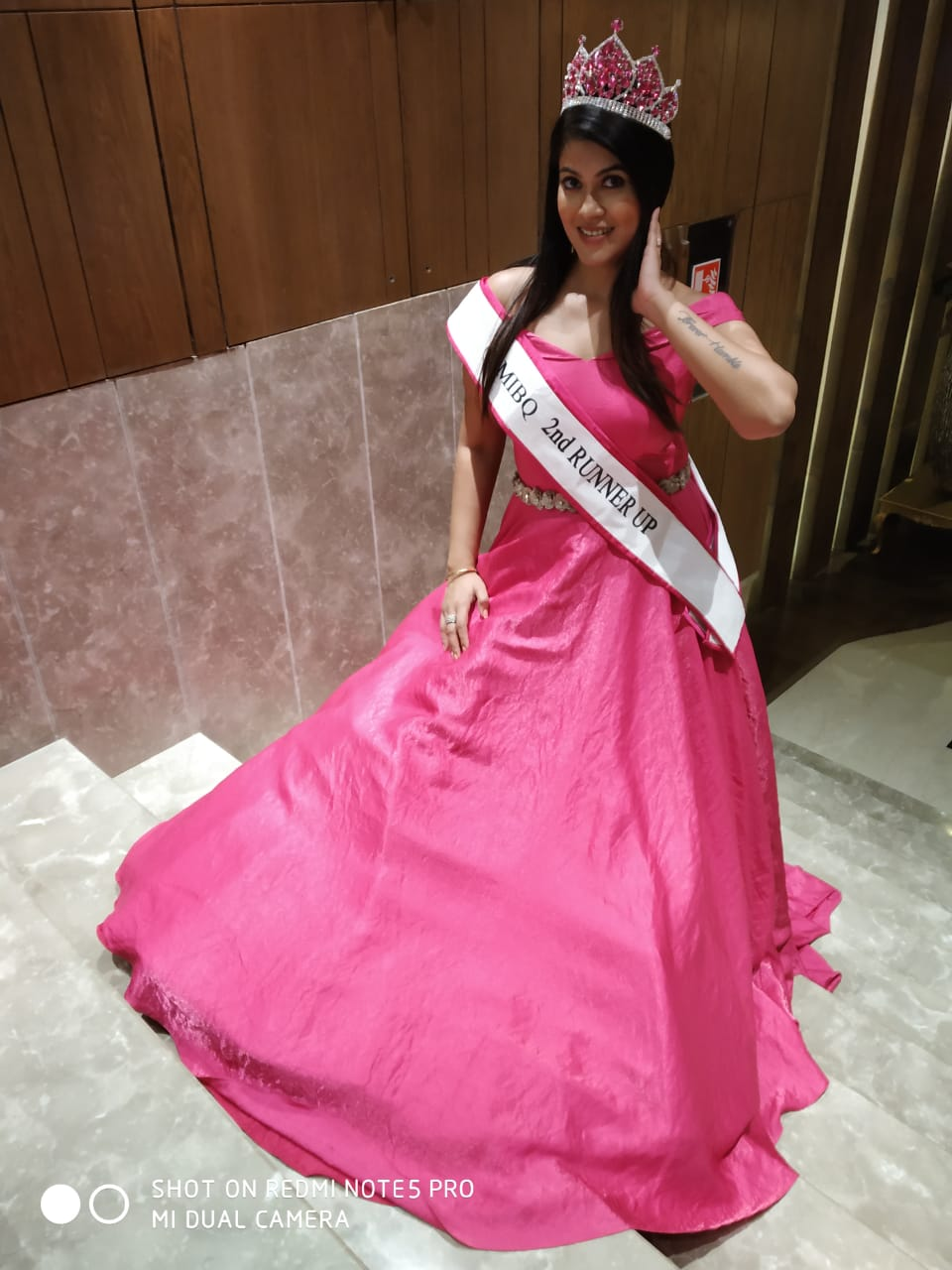Member takes on Mrs. India 2018