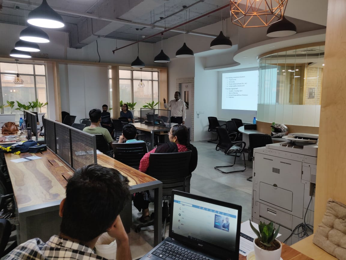Workshop on Legal Issues facing Startups